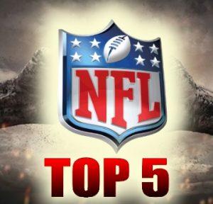 NFL Week 4 Power Ranking - Top 5 Teams