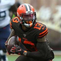 Browns Odell Beckham Plays Through Sports Hernia