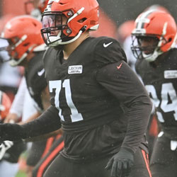 Cleveland Browns Coronavirus List – Five Players Out of Sunday Game