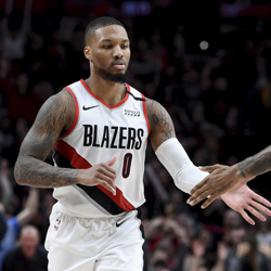 Damian Lillard Joins 3-Point Contest at NBA All-Star
