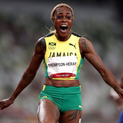 Bookie Celebrate All-Jamaican Podium Finish in Olympic 100m Race